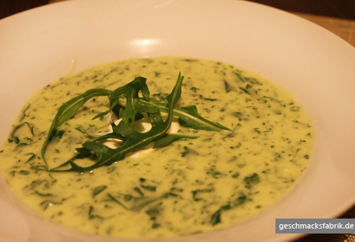 Rucola Creme Suppe