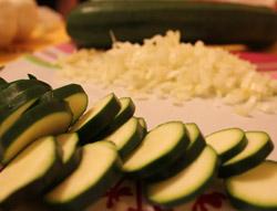Zucchini Gemuesepfanne