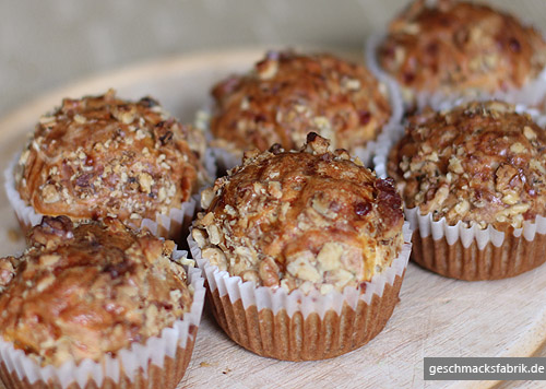 Käse-Walnuss Muffins