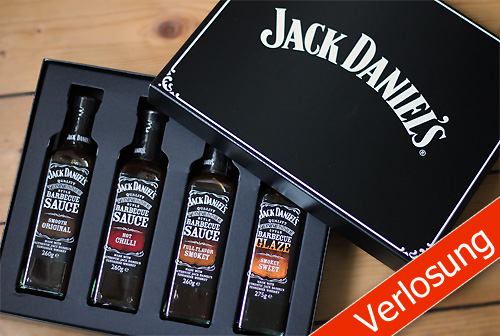 Jack Daniel's Barbecue Saucen-Set