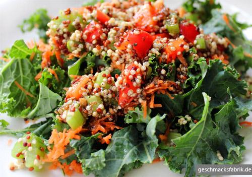 Quinoa-Grünkohl-Salat