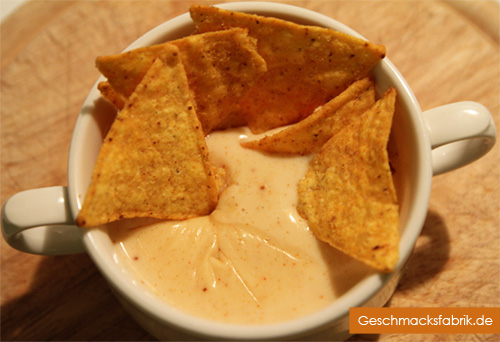 Nachos-Käsesoße wie im Kino